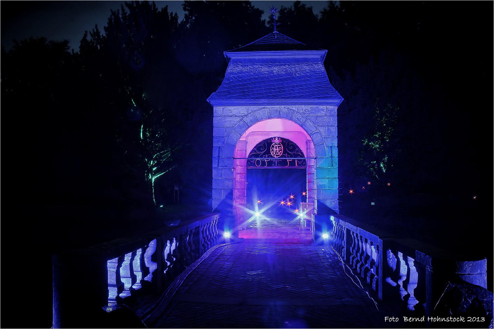 Illumina 10.0 Schloß Dyck Hochzeitsbrücke .....