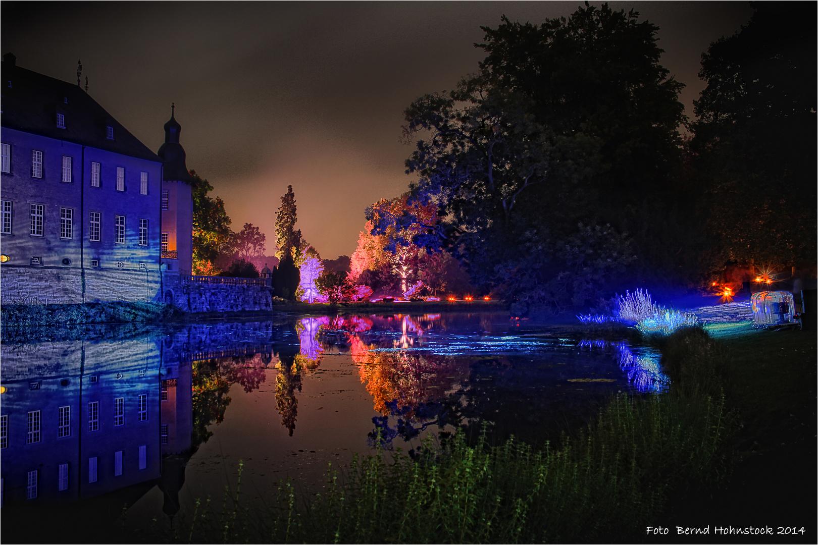 Illumina 2014 ... Nacht über Schloß Dyck ...