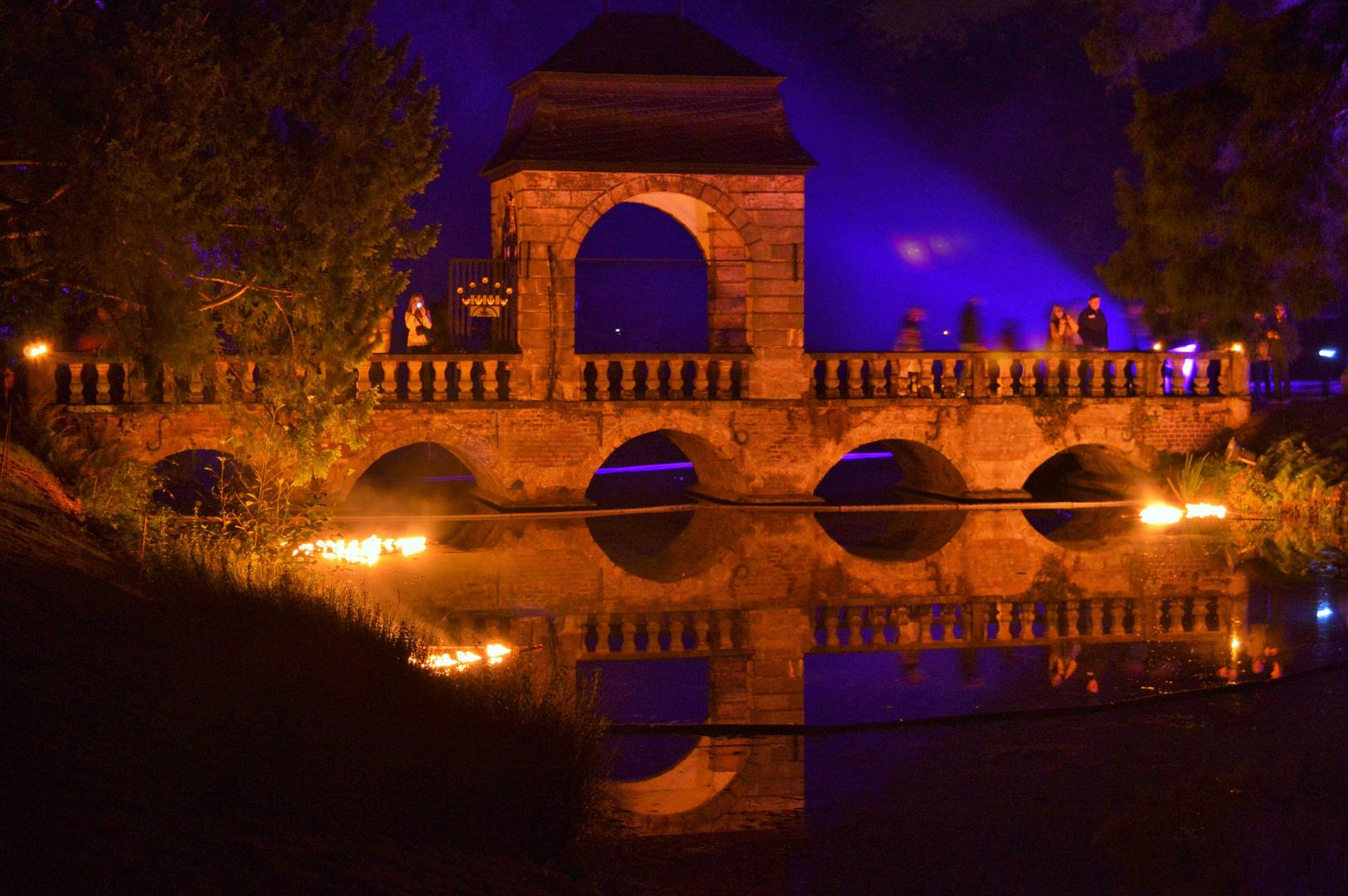 Illumina 2014 Schloss Dyck Brücke