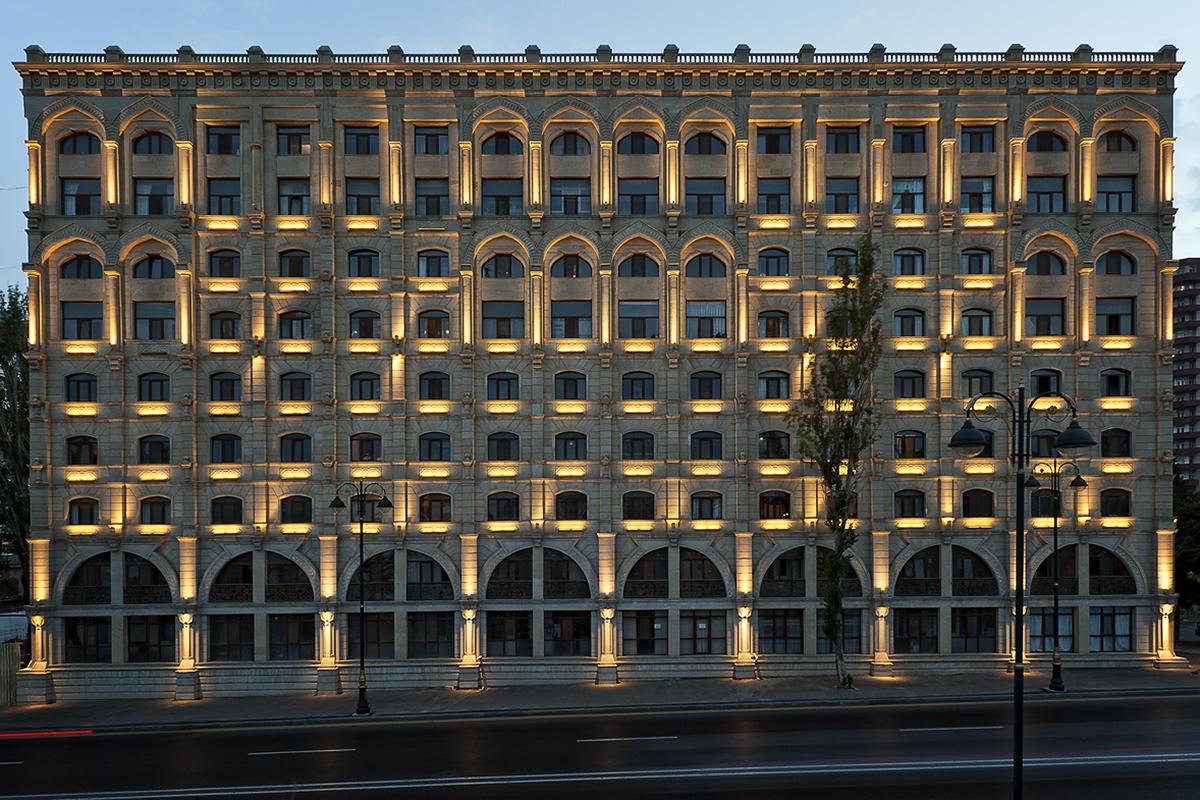 Illuminated Baku