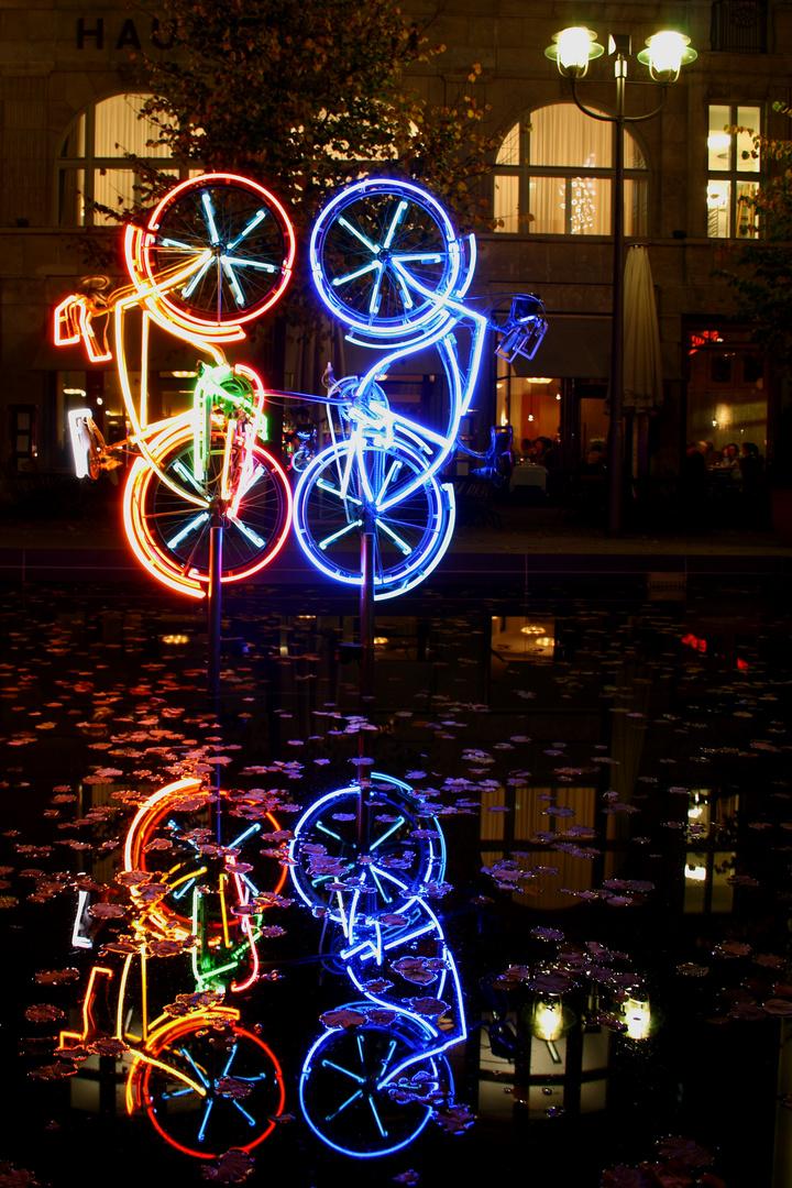 Illuminated Bikes