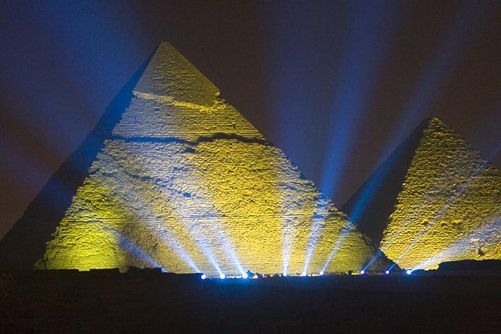 Illuminated Pyramid