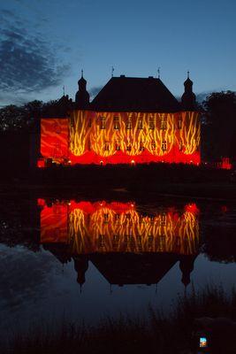 Illumination auf Schloss Dyck
