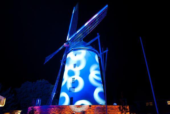 Illumination der Braun's Mühle