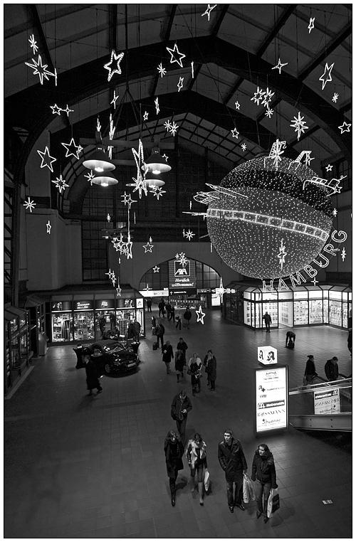 Illumination im Hauptbahnhof