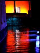 Illumination in der Augsburger Altstadt 4.8.07