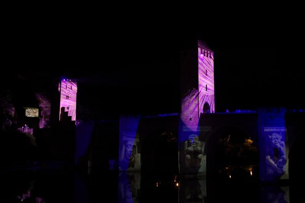 illumination pont Valentré