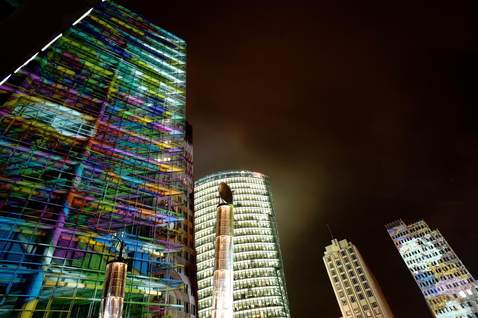 Illumination Potsdamer Platz