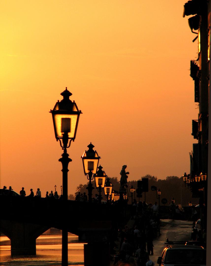 « Illumination solaire » à Florence.