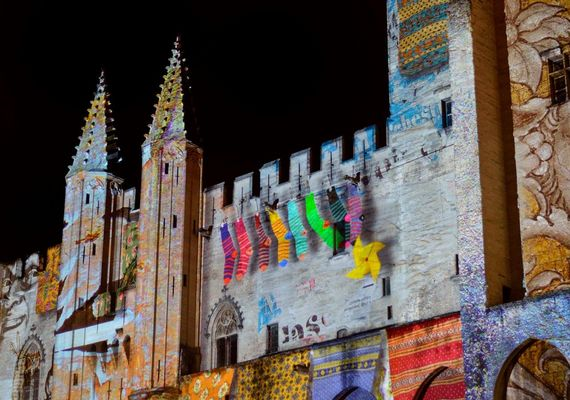 Illuminations du Palais des Papes