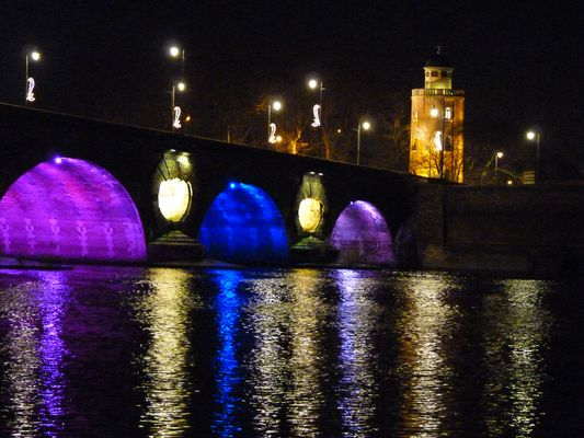 Illuminations Toulouse Noël