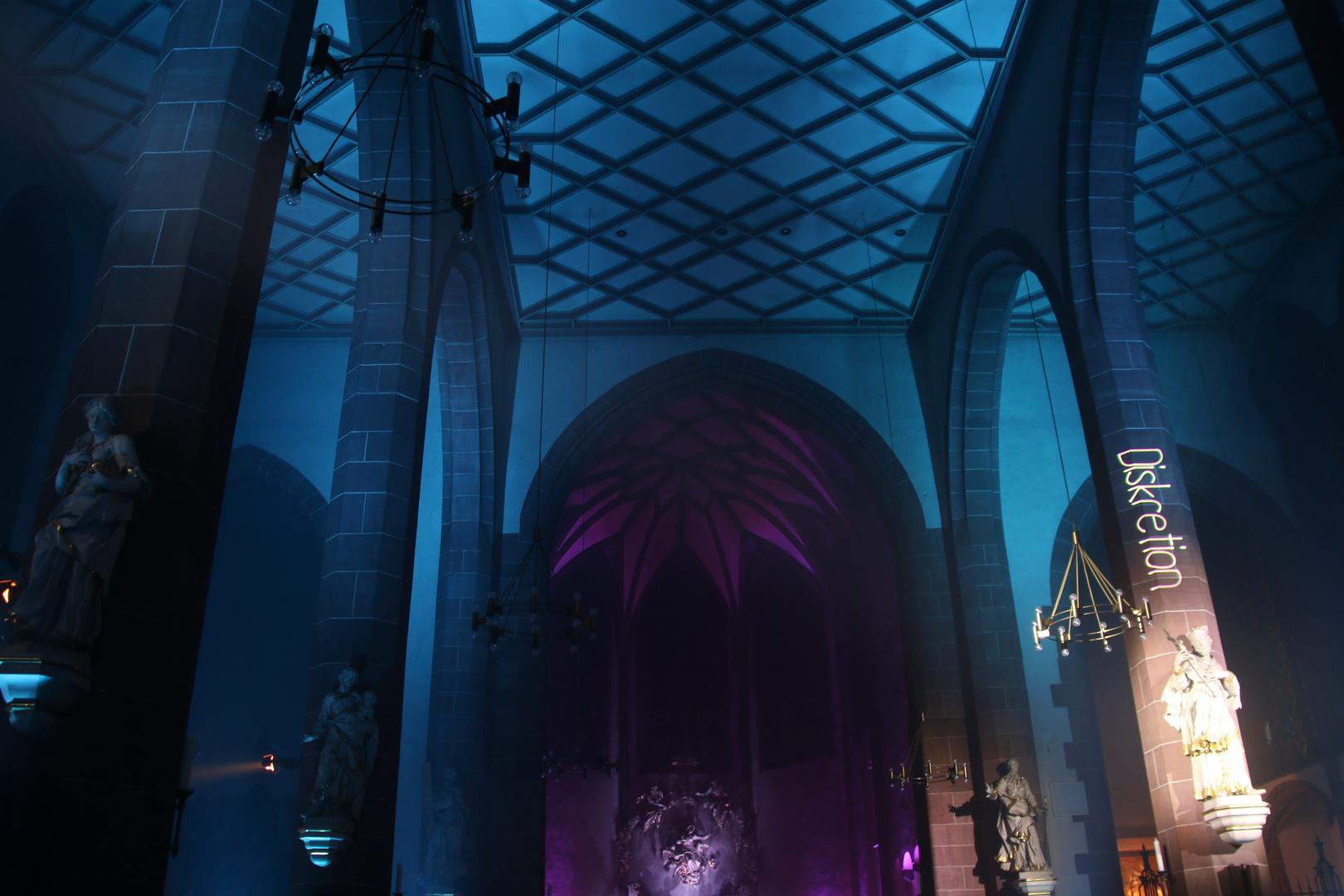 Illuminierte Liebfrauenkirche