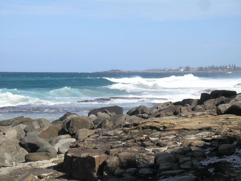 Iluka from cliff walk, Iluka Bluff Beach, NSW