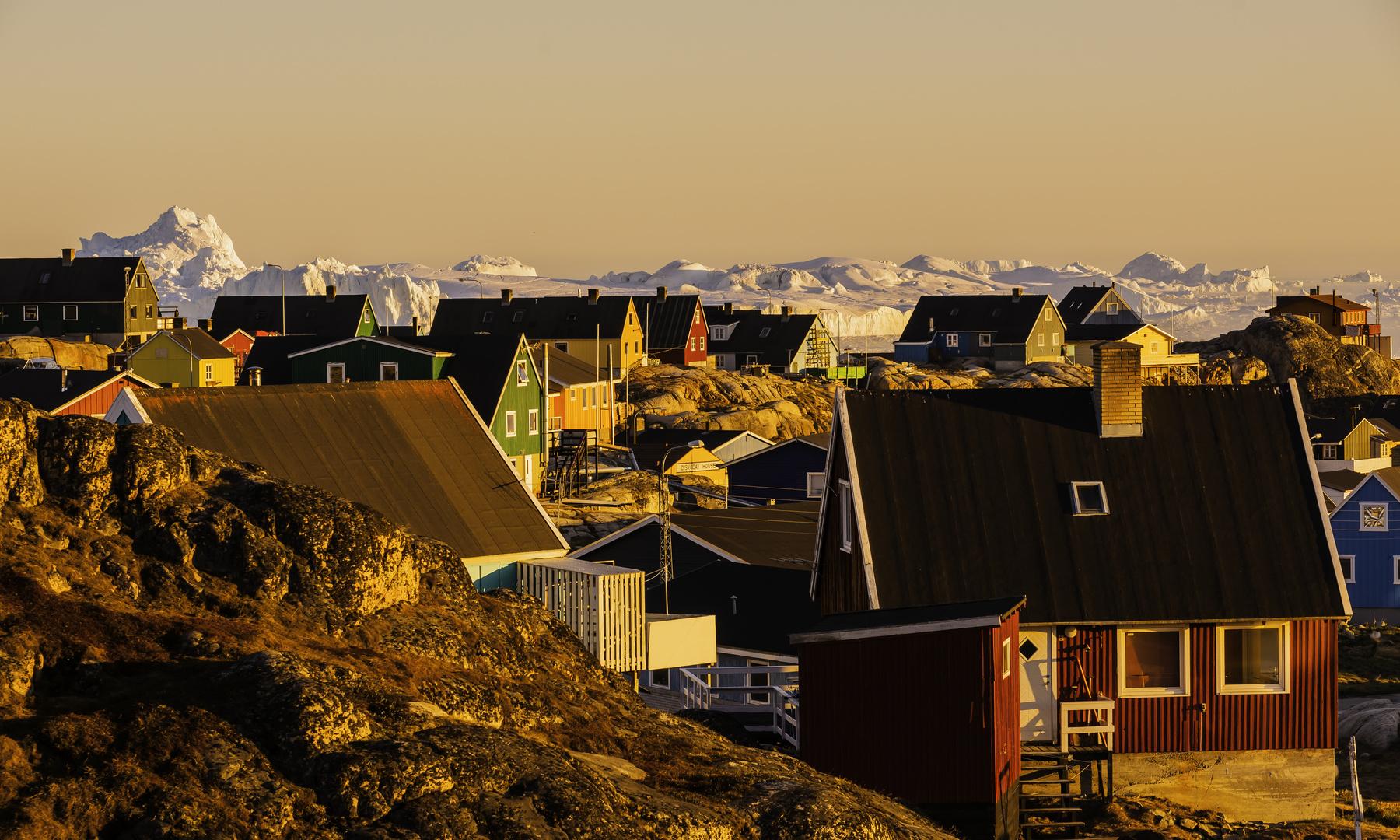 Ilulissat by night