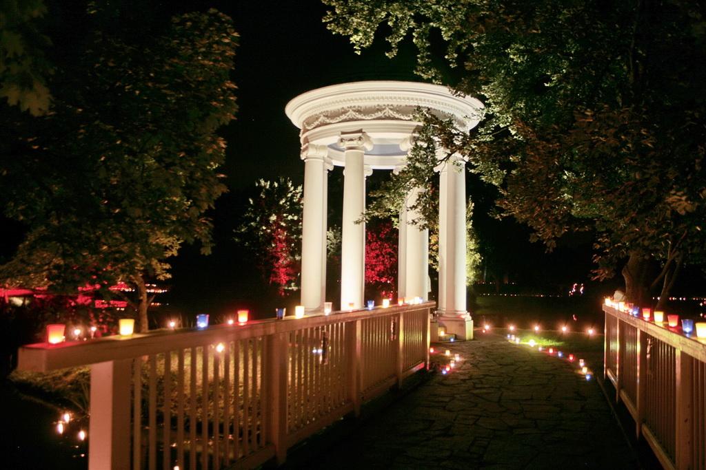 Ilumination im Agra-Park