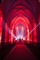 Iluminierte Kirche