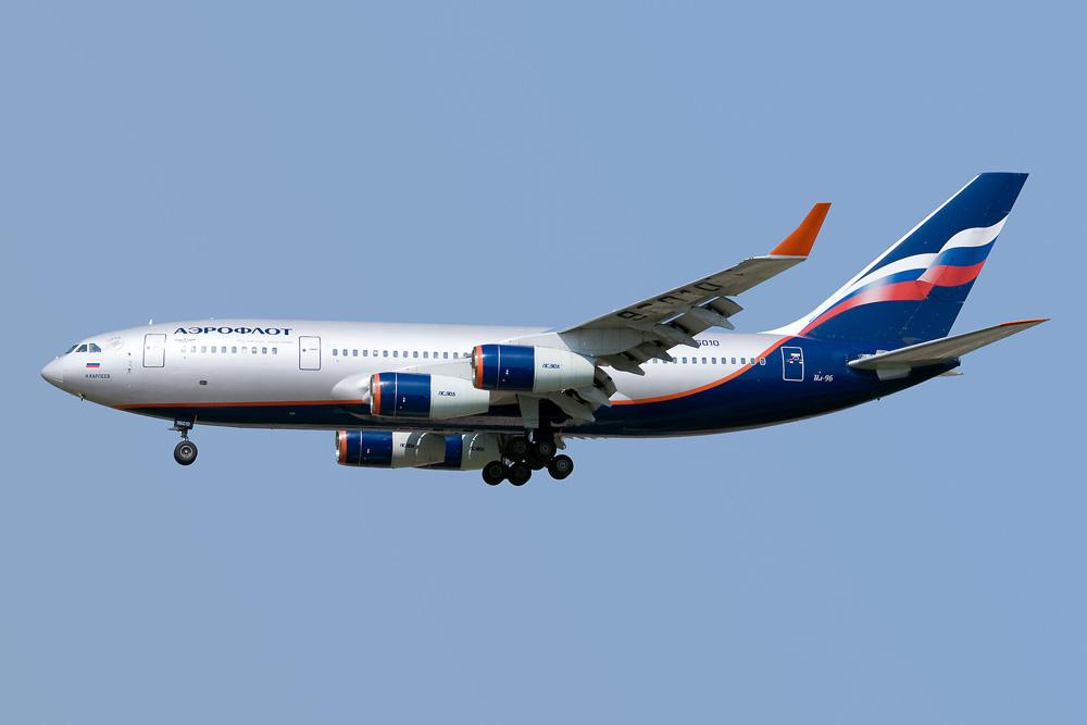 Ilyushin IL-96-300, Aeroflot- Russian Airlines, RA-96010