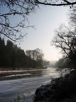 Ilz im Winter