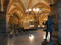 Im Aachener Rathaus