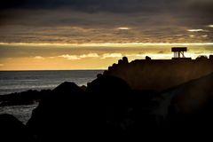 Im Abendlicht auf den Azoren