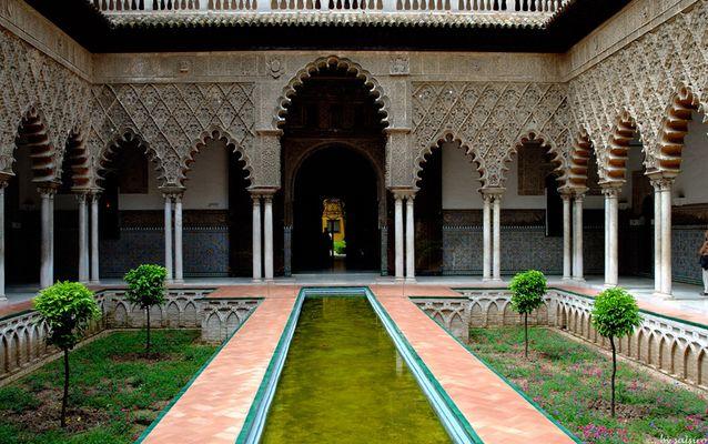Im Alcazar (Sevilla)