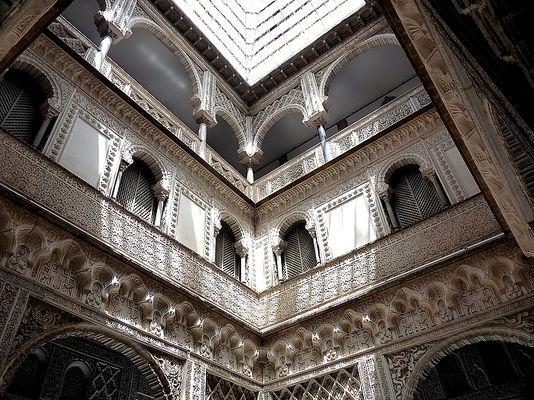 Im Alcázar von Sevilla