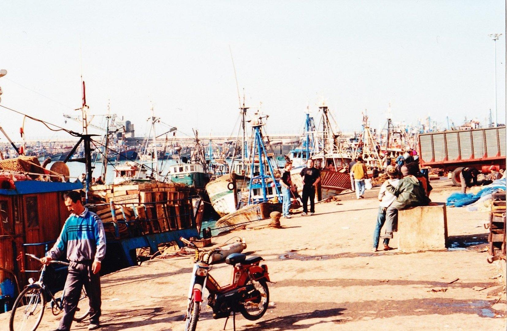 Im alten Hafen von Agadir