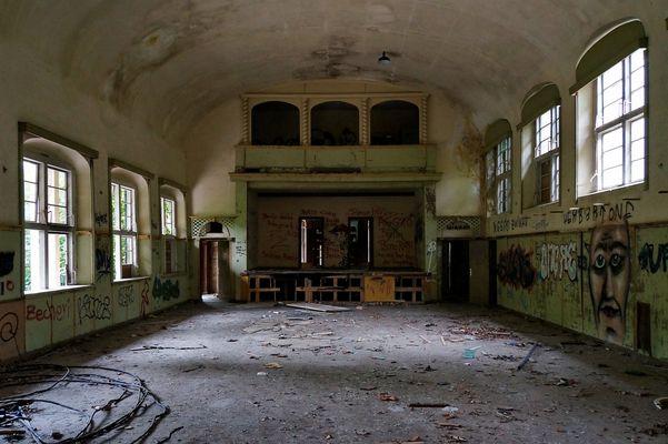 Im alten Kindersanatorium Zinnowitz
