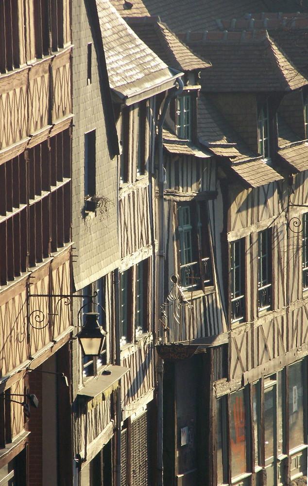 Im alten Rouen am Morgen