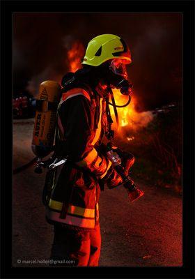 Im Angesicht des Feuers