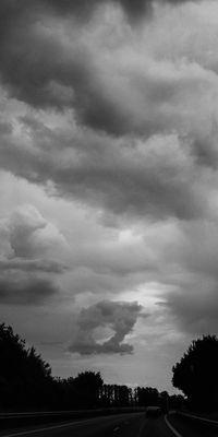 """Im Auge des Gewitters oder: """"Unser täglich Gewitter gib uns bitte nicht heute""""."""