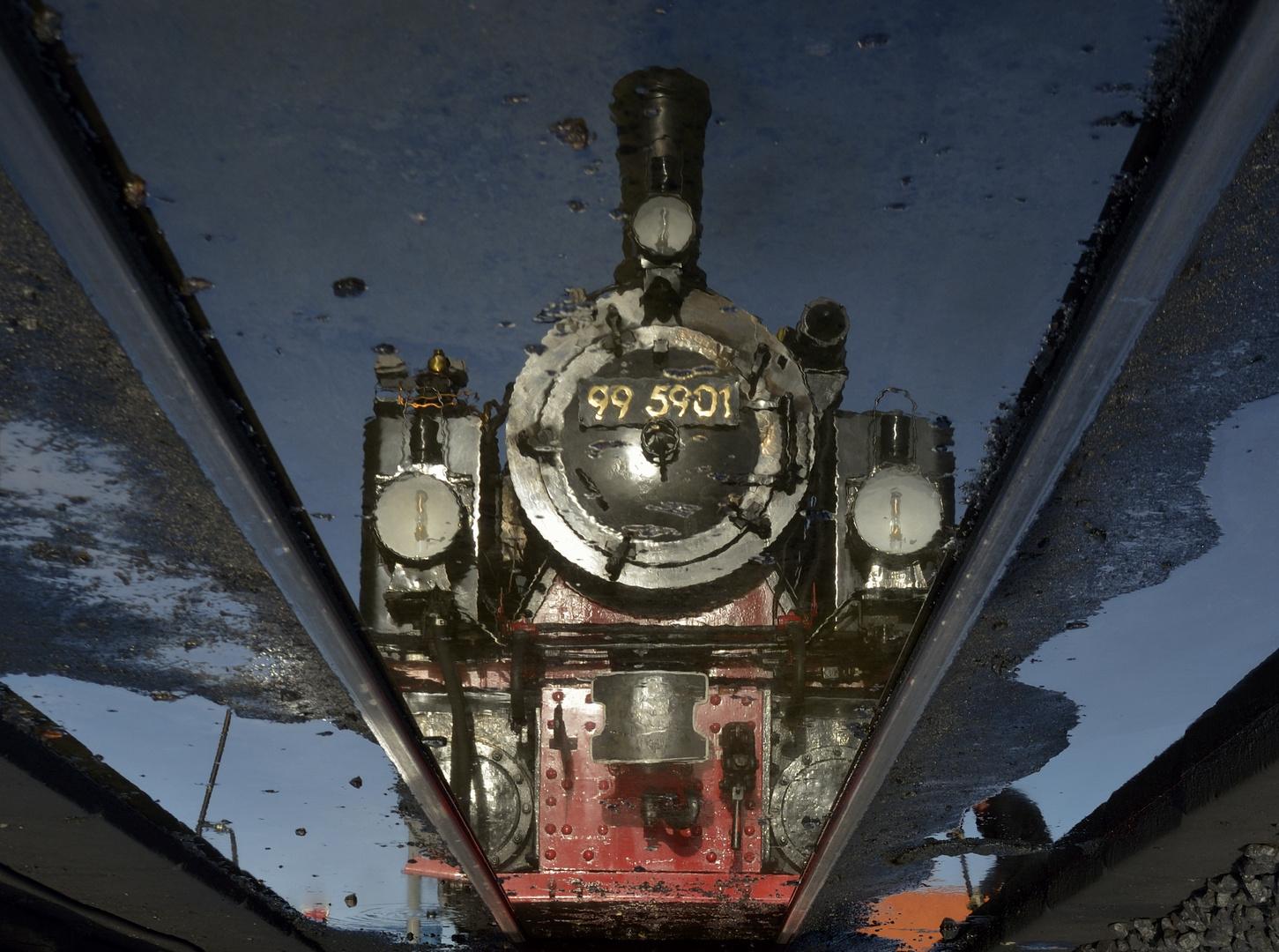 Im Bahnbetriebswerk IV