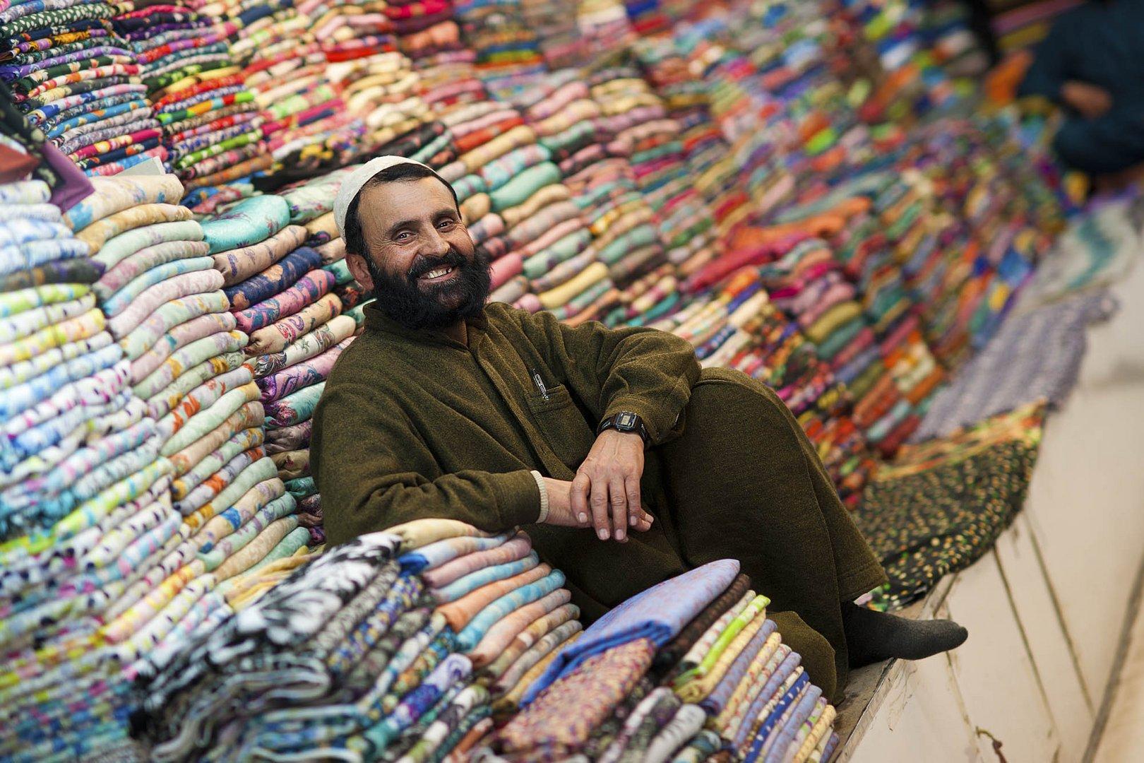 Im Basar von Murree, Pakistan