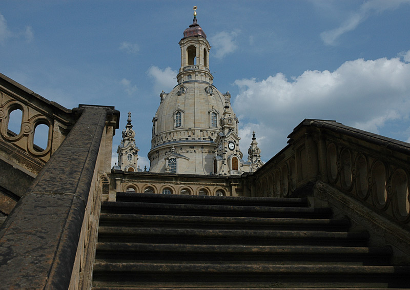 Im Blick: die Frauenkirche