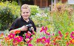 Im Blumenmeer.... von Thomas Ripplinger