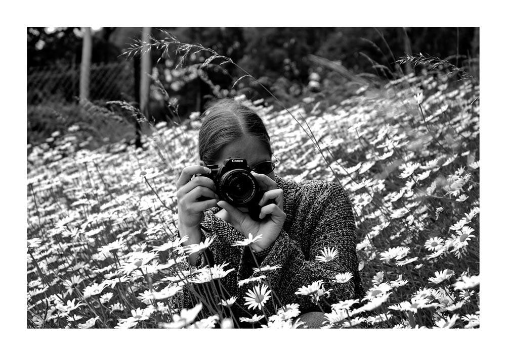 Im Blumenmeer