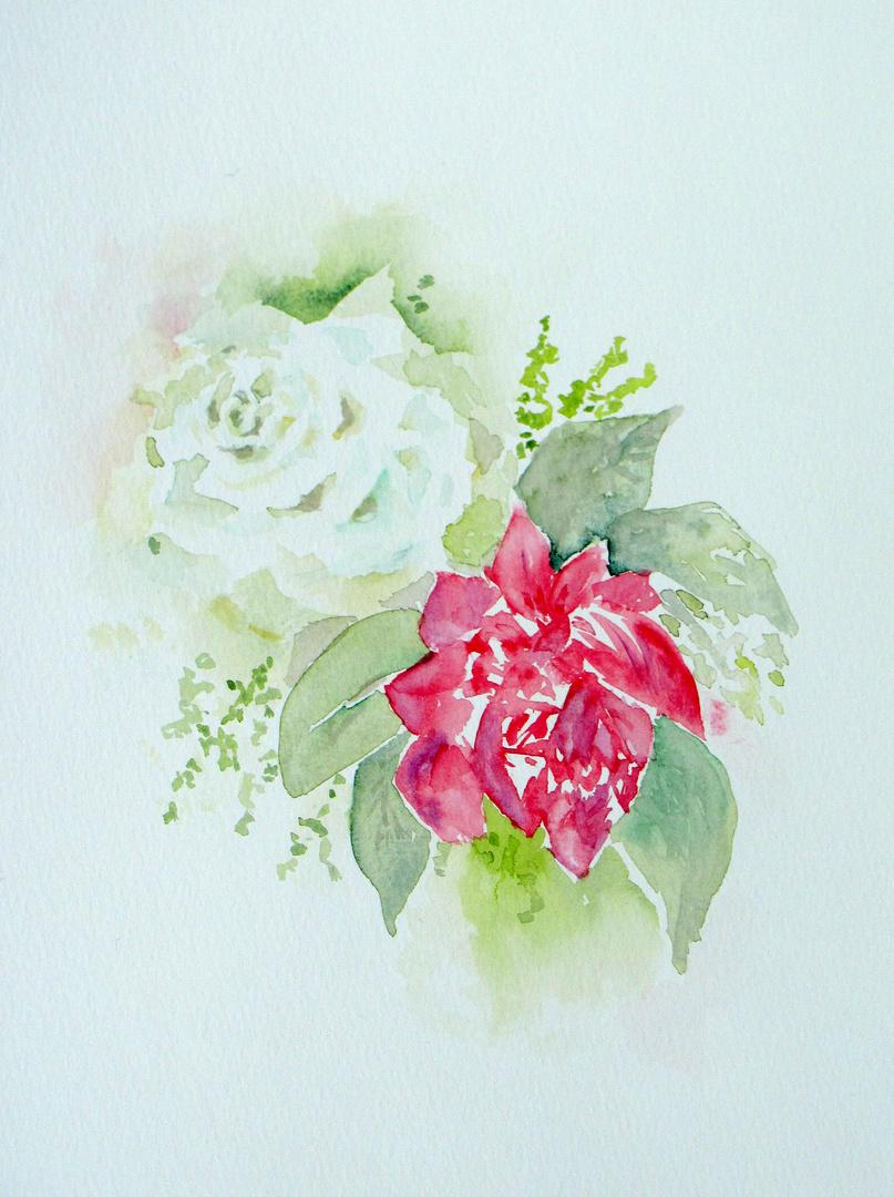 im Blumenstrauß