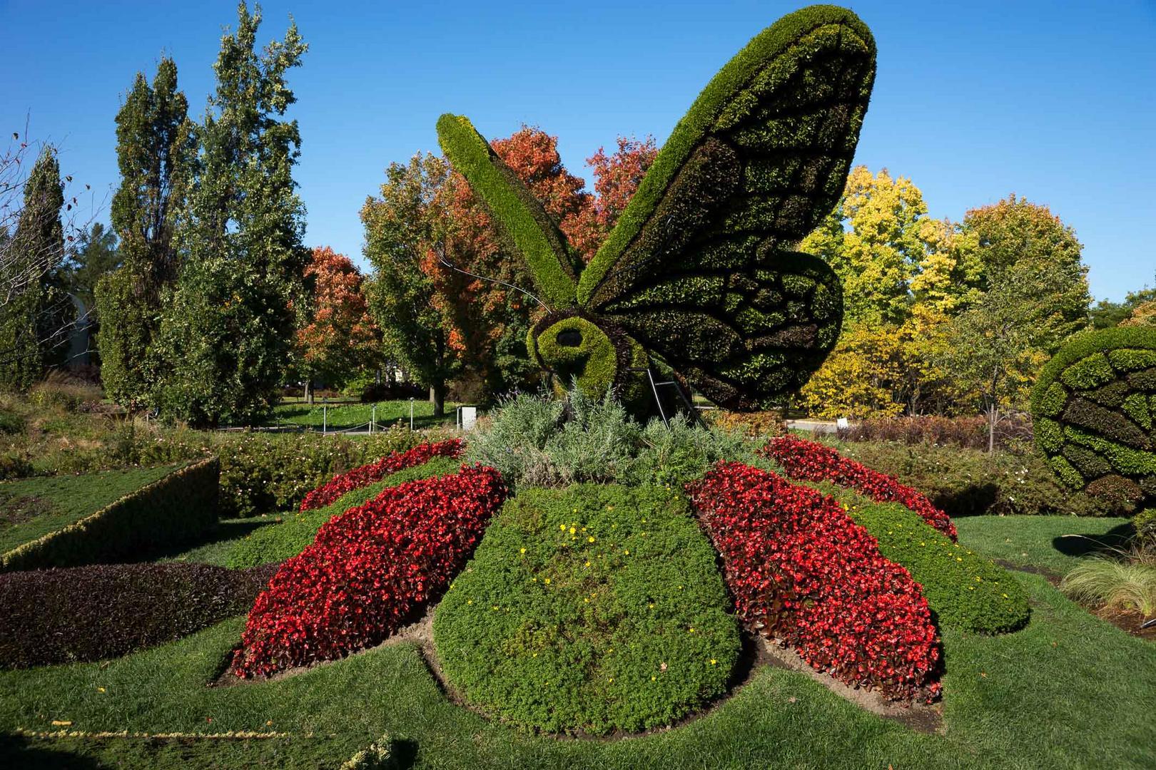 Im Botanischen Garten Montreal