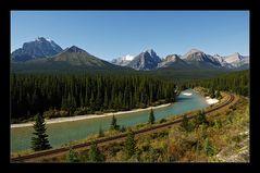 [ Im Bow Valley zwischen Banff und Lake Louise ]