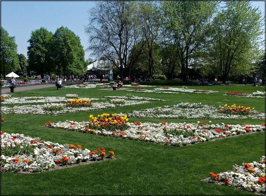 im Britzer Garten...