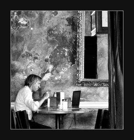 Im Cafe...