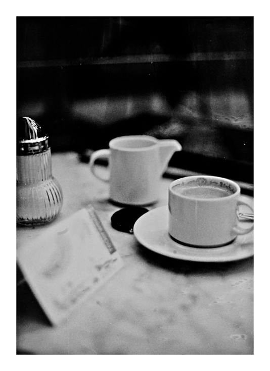 ... im Café