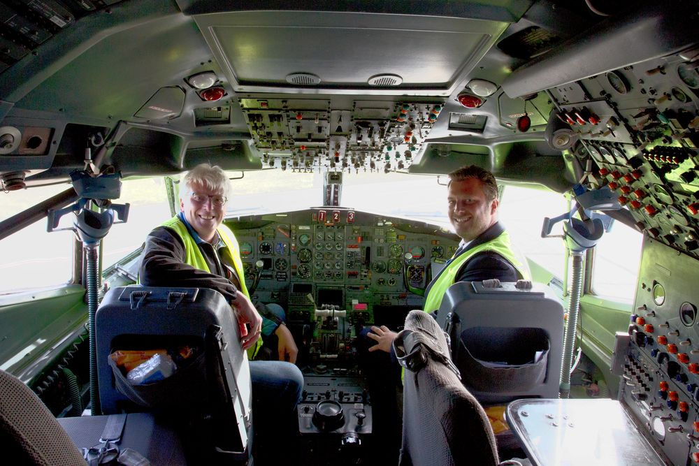 Im Cockpit einer Legende