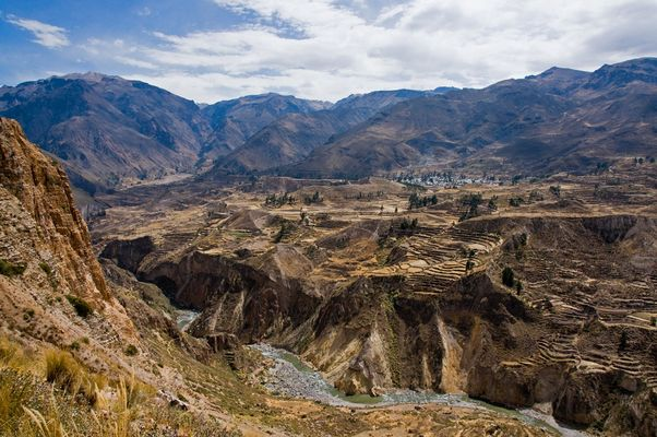 Im Colca Canyon bei Chivay