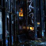 Im Conti - Gebäude brennt noch Licht