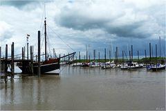 Im Ditzumer Hafen....