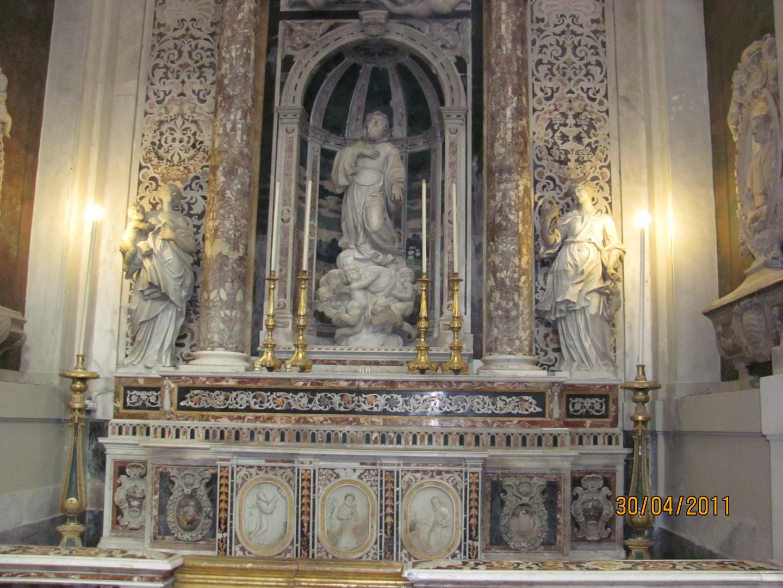 im Dom von Palermo