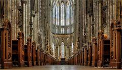 im Dom zu Köln ... UNESCO-Weltkulturerbe.