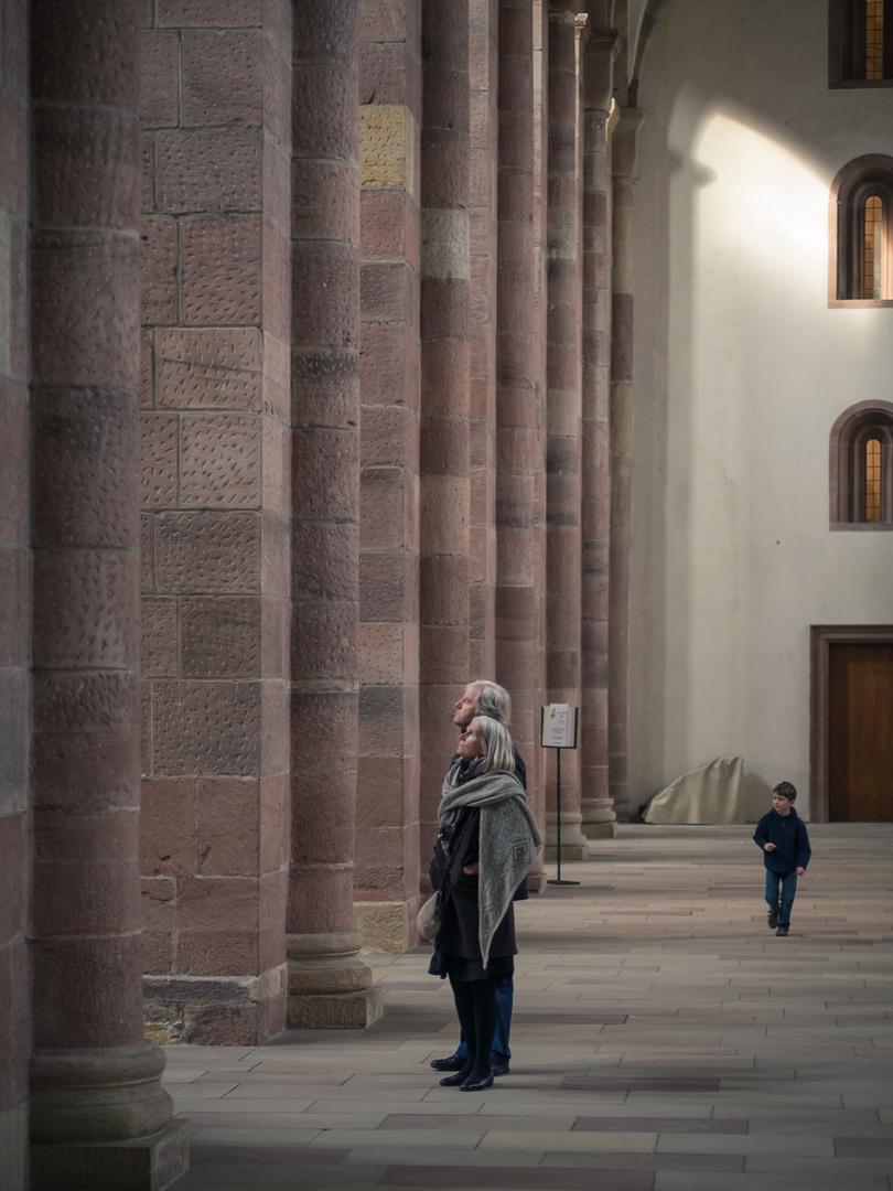 Im Dom zu Speyer