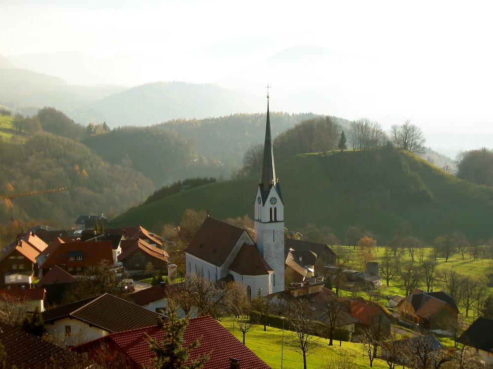 im (Dorf)-Zentrum